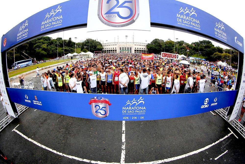 Opções de distâncias serão atração na Maratona de São Paulo 2020