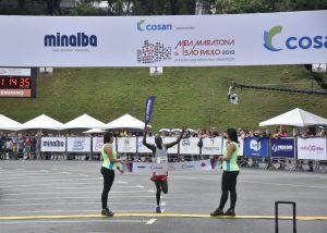 Quenianos vencem a 13ª Meia Maratona Internacional de São Paulo