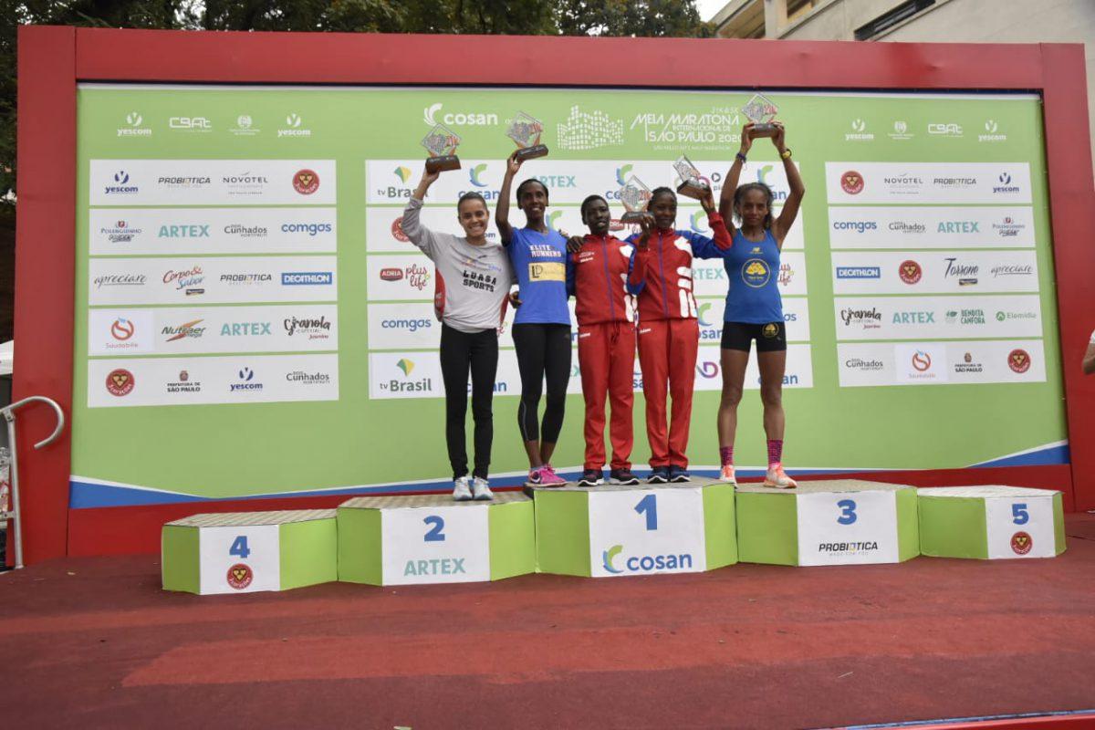Meia Maratona de São Paulo 2020: brasileiro volta ao topo do pódio