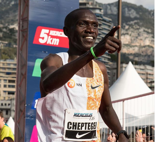 Recorde 5km: Joshua Cheptegei estabelece nova marca de 12min51s
