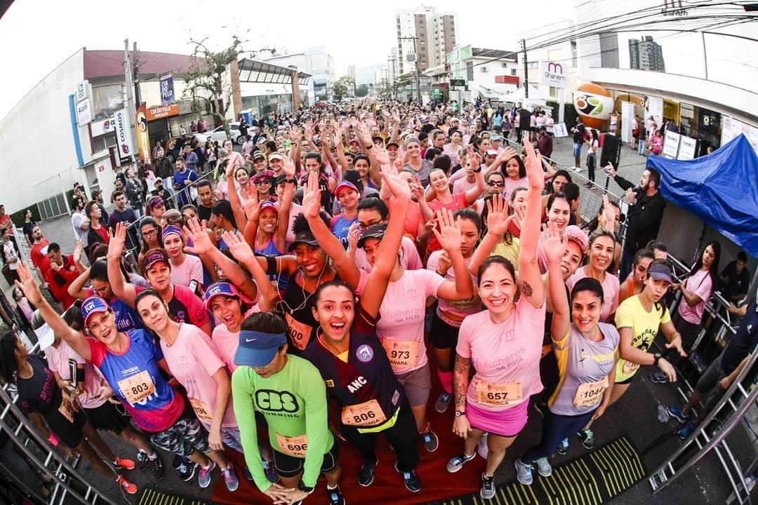Corrida Mulheres na Pista 2020 acontece no Dia Internacional da Mulher