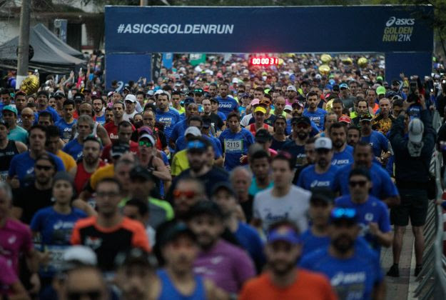 Parte do circuito Asics Golden Run, prova de 10K acontece em SP