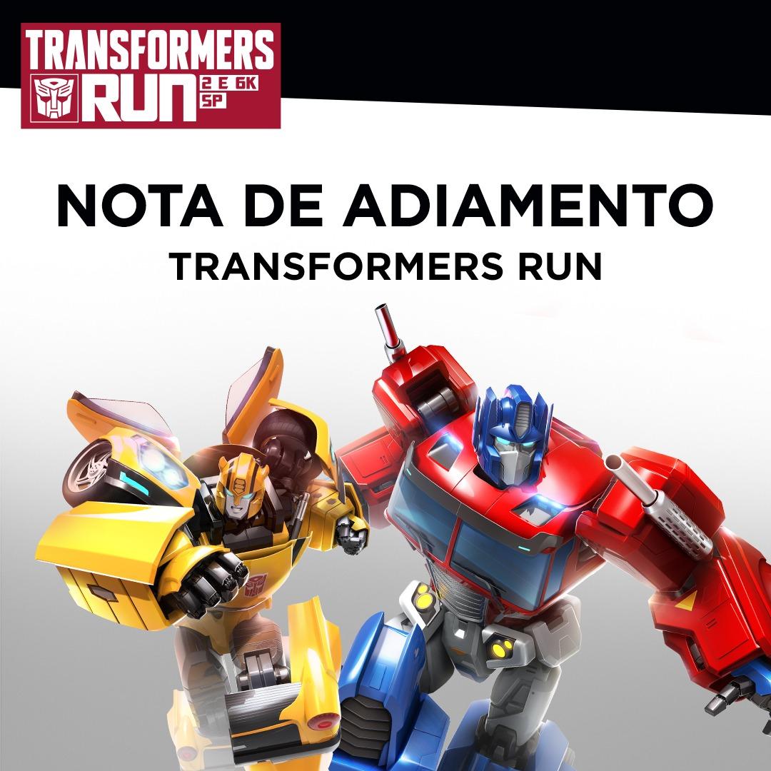 Transformers Run é adiada, nova data ainda não foi divulgada