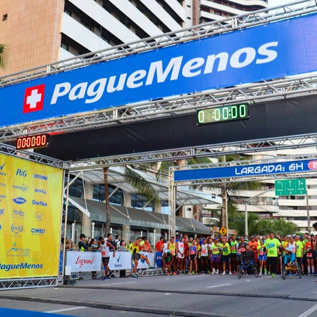Fortaleza recebe o Circuito de Corridas Farmácias Pague Menos 2020