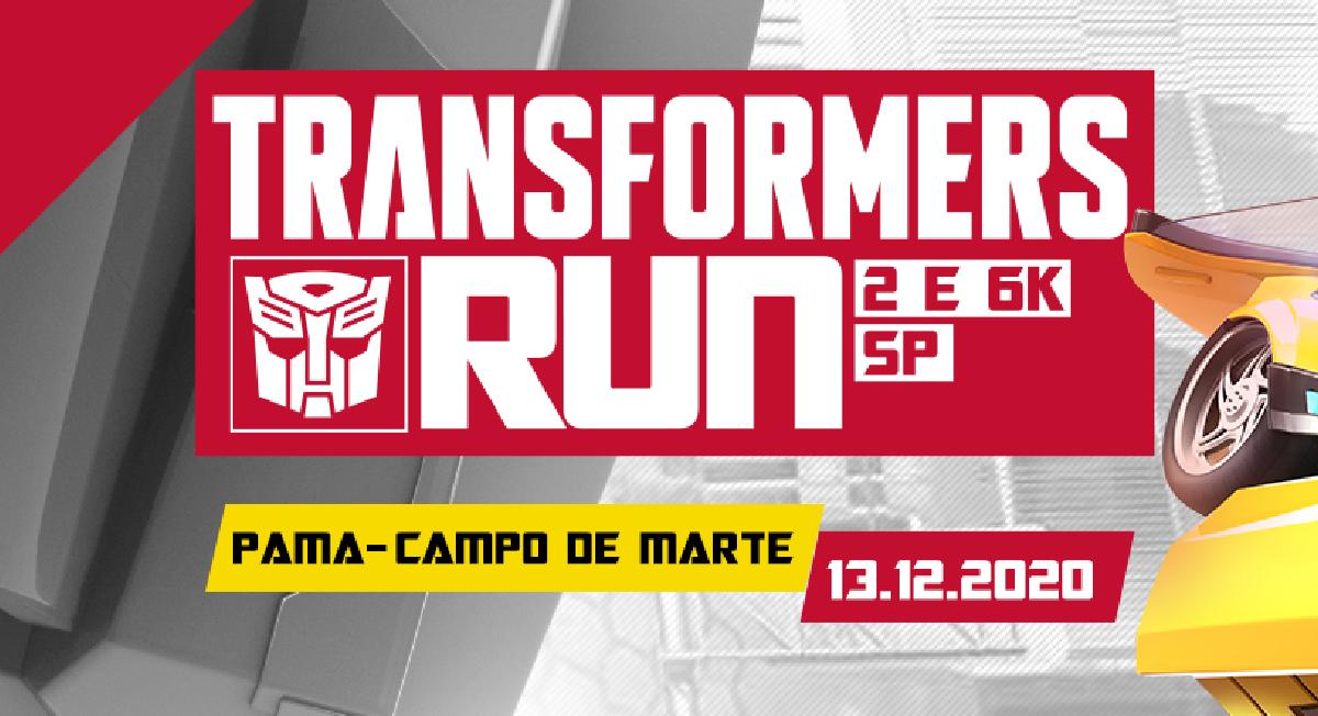 Corrida de rua do universo Transformers tem nova data: 13 de dezembro