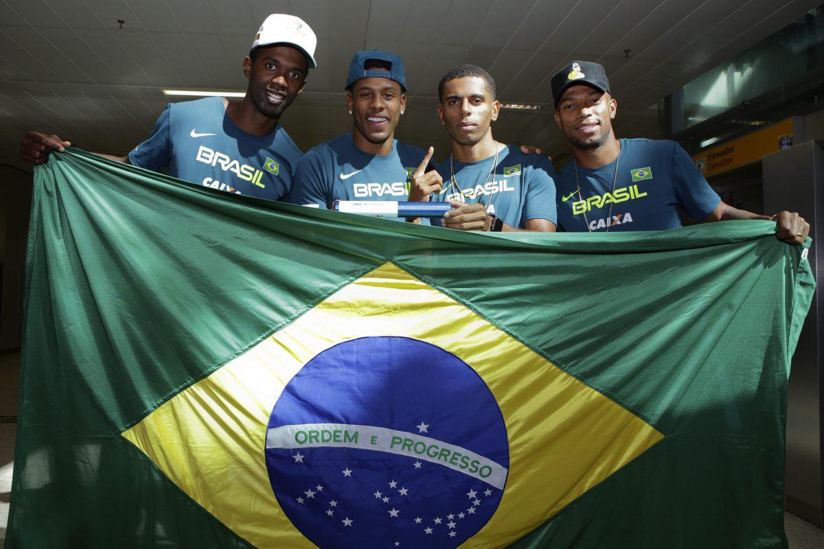 Há um ano, Brasil conquistava o inédito título do Mundial de Revezamentos