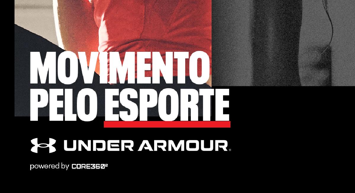 Under Armour lança projeto de treinos online com profissionais renomados