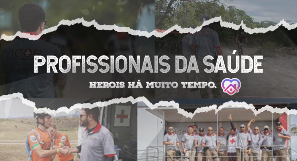Brasil Ride oferece inscrição gratuita para profissionais da saúde - Webrun
