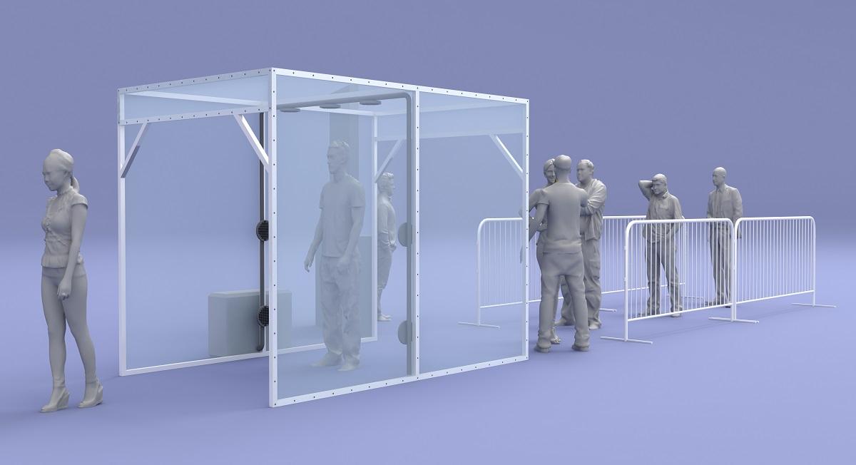 Como as cabines de desinfecção serão úteis para o retorno das corridas?
