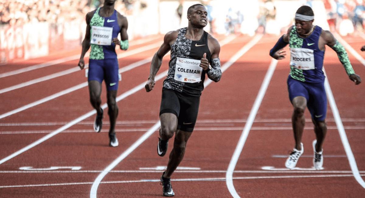 Atual campeão mundial dos 100m é punido por falta de exames antidoping