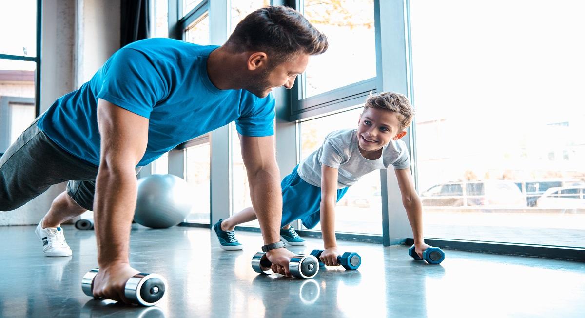 Personal lista exercícios para treino com a família todaPersonal lista exercícios para treino com a família toda