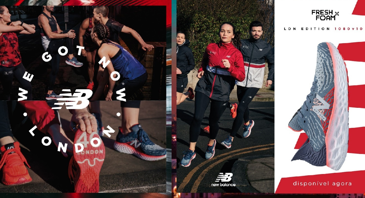 new balance homenageia maratona de londres