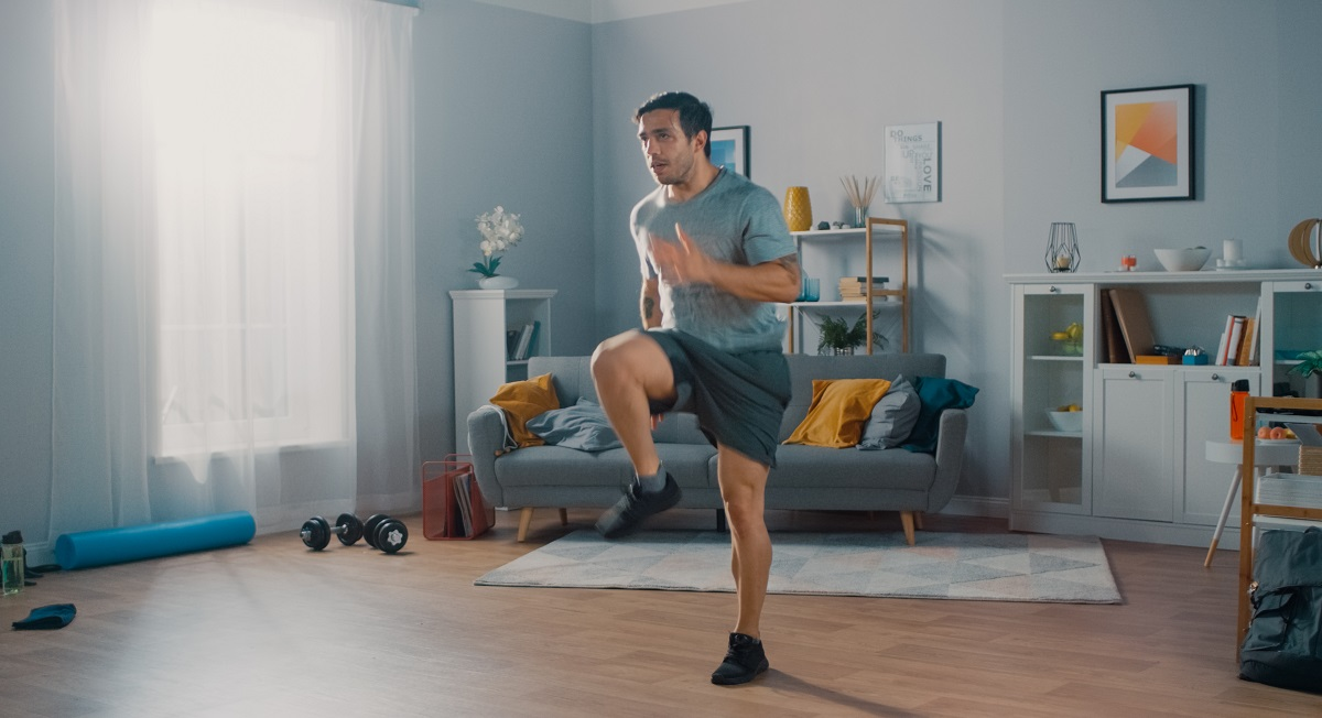 Treino de cardio em casa melhora a capacidade pulmonar