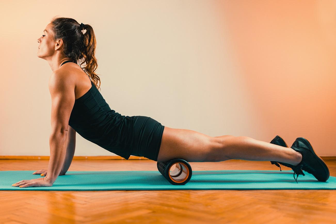 Que tal investir nos rolos de alongamento para melhorar sua postura?