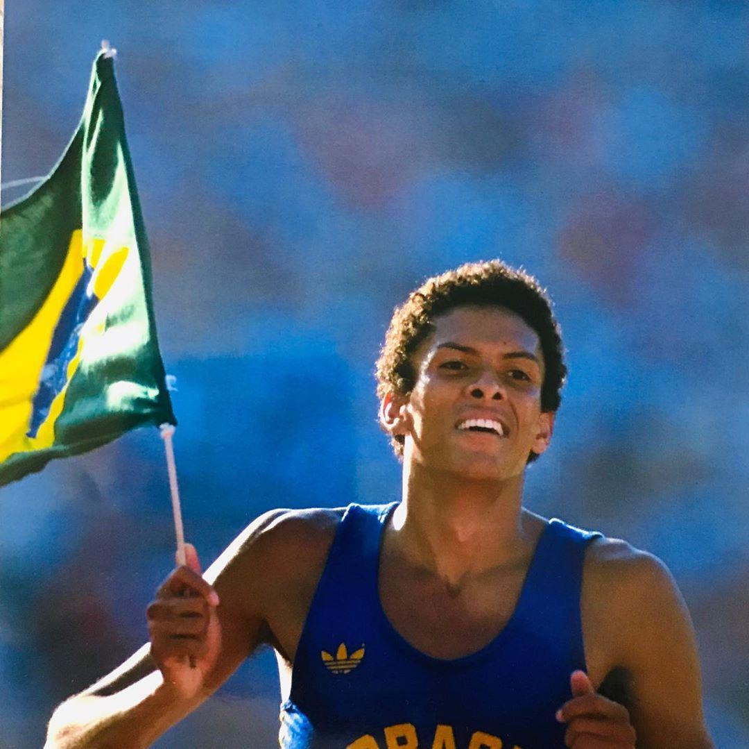 Ouro olímpico de Joaquim Cruz completa 36 anos