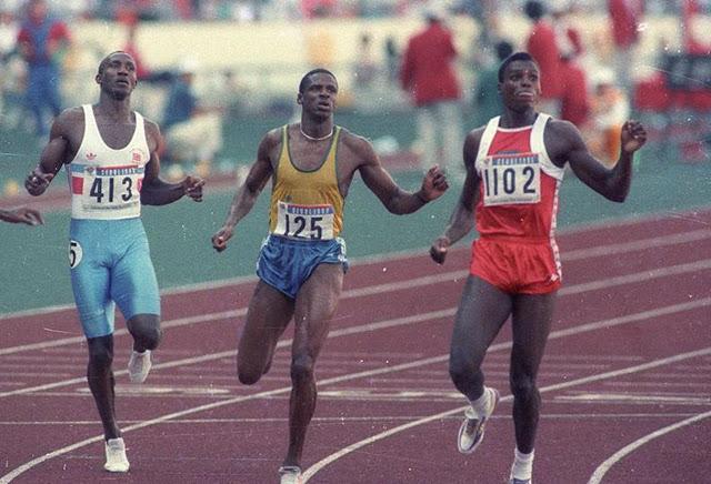 Bronze olímpico de Robson Caetano nos 200 m faz 32 anos