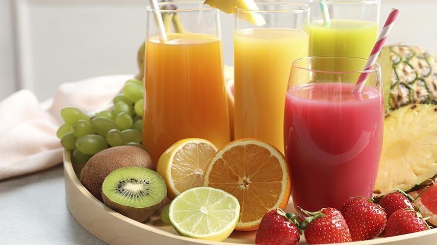cinco sucos desintoxicantes