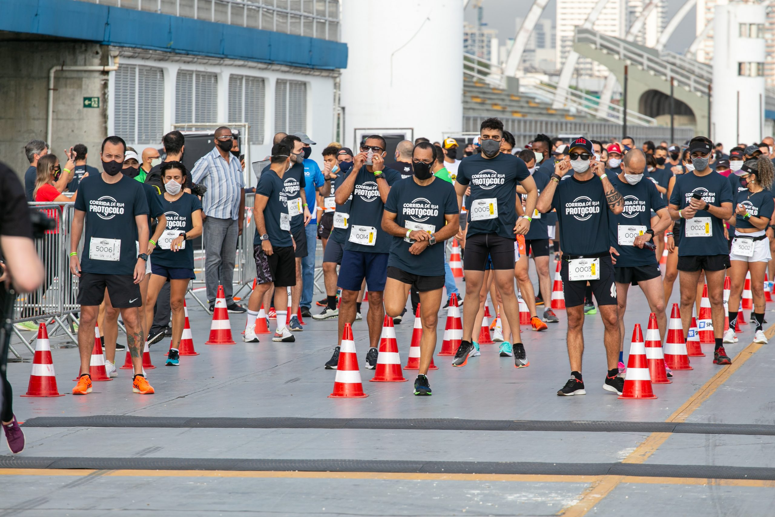 Corrida de verificação de protocolos é aprovada por organizadores, autoridades e atletas