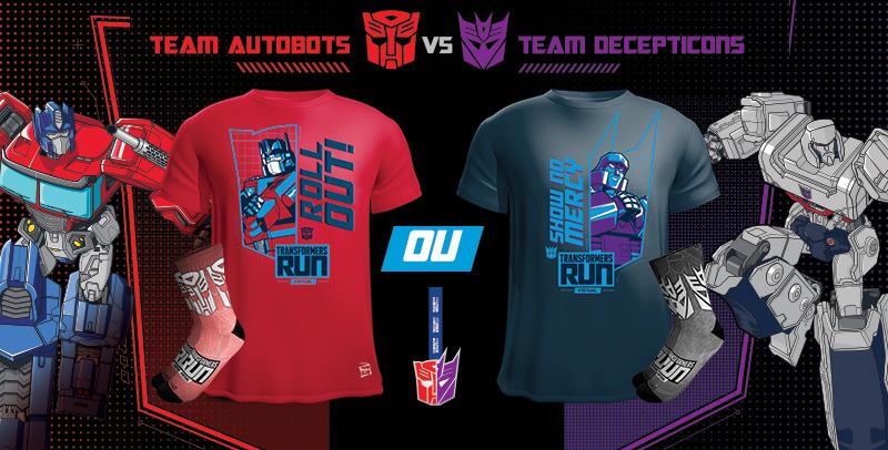 Transformers Run Virtual: corrida acontece até final de março de 2021