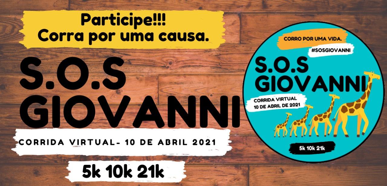 S.O.S Giovanni: corra por essa causa! Veja como participar