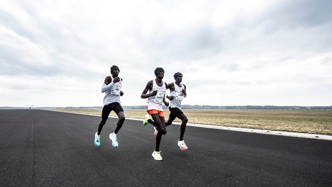 Eliud Kipchoge garante vitória na Mission Marathon, na Holanda