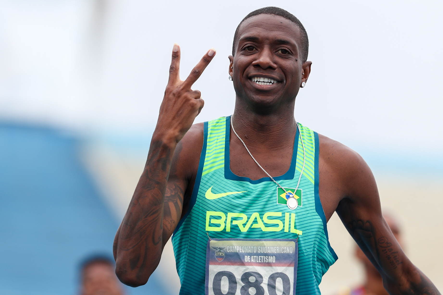 Brasil mantém hegemonia no Sul-Americano de Atletismo e conquista 49 medalhas na competição