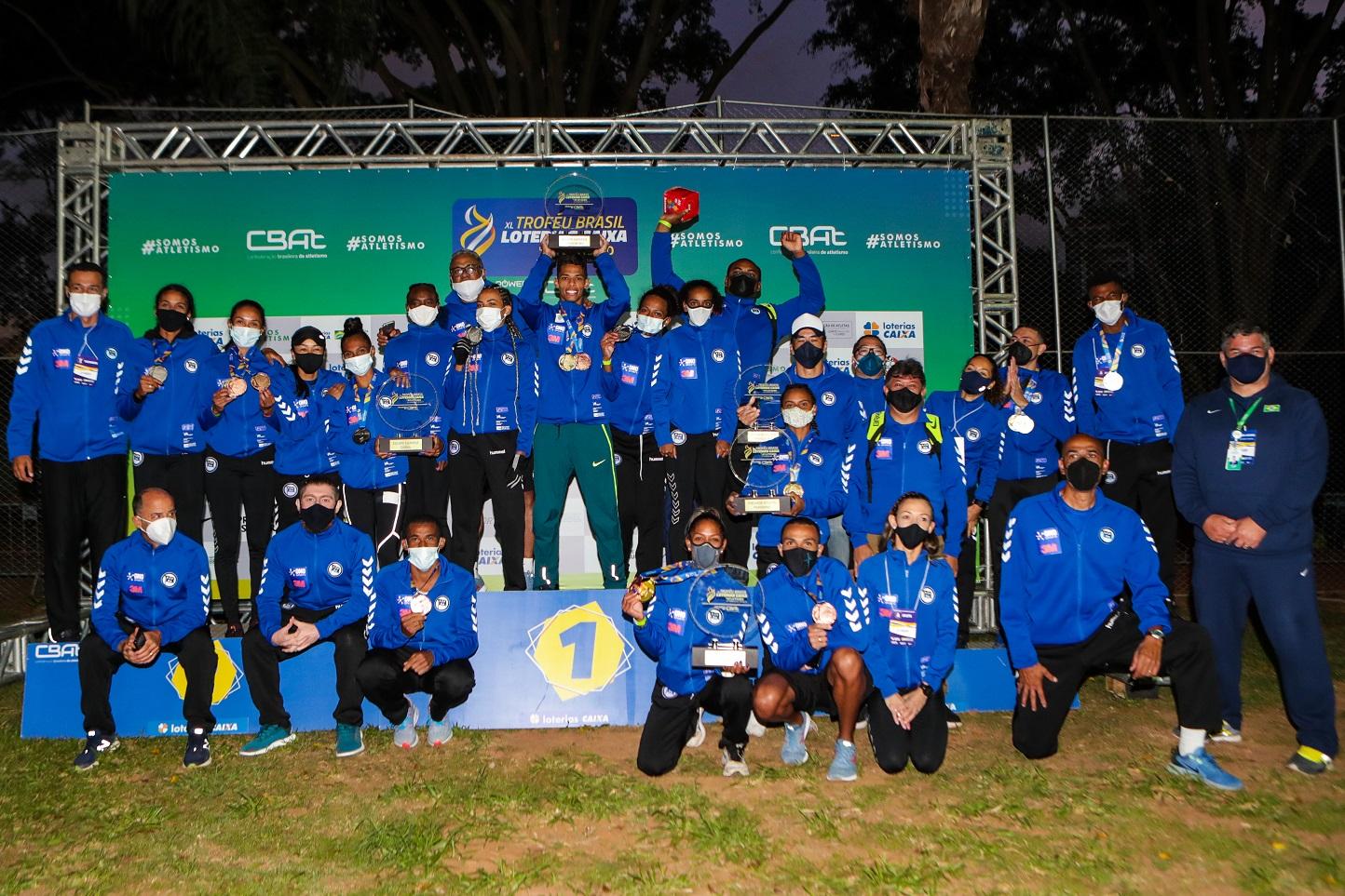 Pinheiros é hexacampeão do Troféu Brasil Loterias Caixa de Atletismo