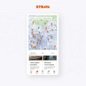 Strava traz as maiores atualizações de 2021, com novidades nos mapas e desafios em grupo