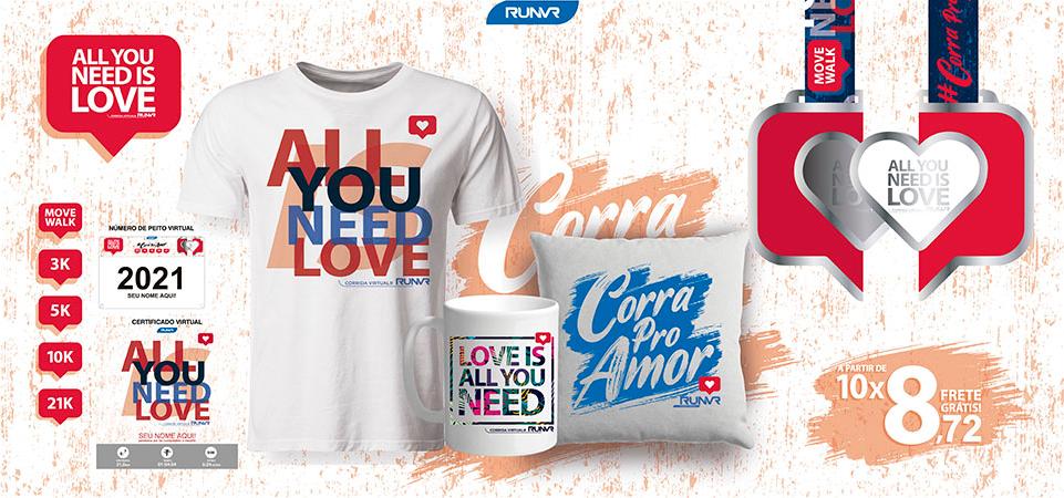 ALL YOU NEED IS LOVE: A CORRIDA VIRTUAL IDEAL PARA CELEBRAR O AMOR NO DIA DOS PAIS