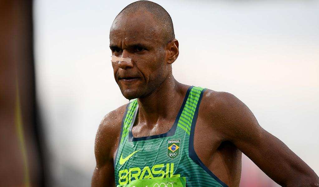 Paulo Paula completa a maratona, na última prova do atletismo na Olimpíada de Tóquio