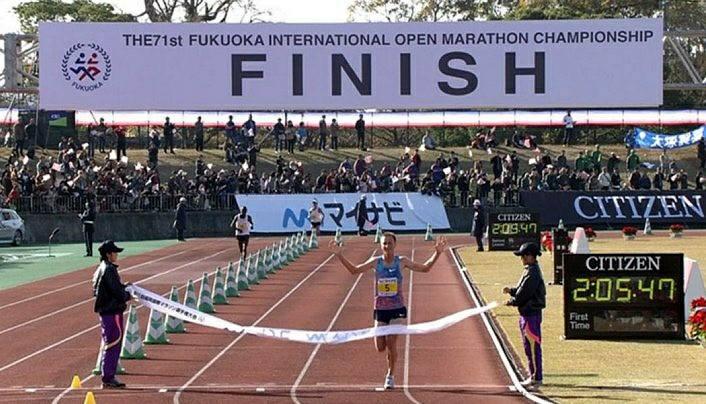 Para se ter uma ideia, Sondre correu os 10 quilômetros 30 para o 40 em 29min15 Foto: Divulgação Facebook