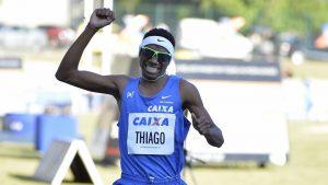 Em seu primeiro Mundial, Thiago do Rosário André termina a final dos 800 m na 7ª posição