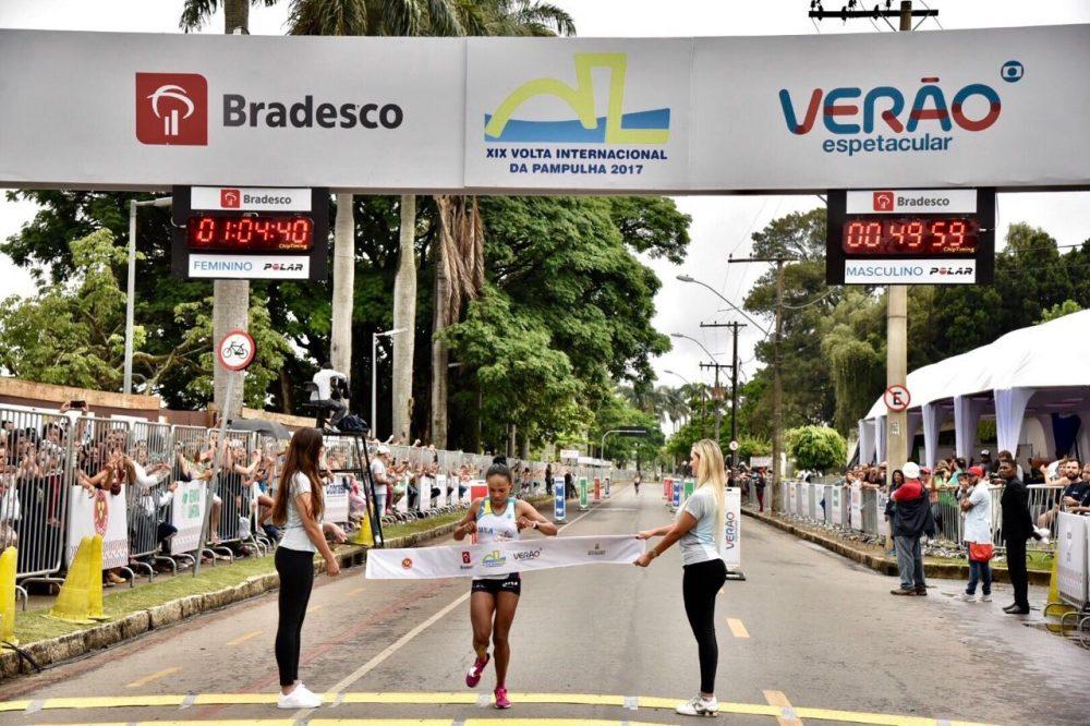 A brasileira Joziane finalizou a prova na terceira colocação Foto: Sérgio Shibuya/MBraga Comunicação