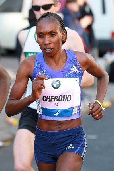 Gladys conquistou o lugar mais alto do pódio pela segunda vez Foto: Divulgação IAAF