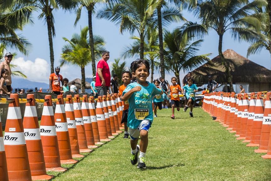 A corrida kids diverte a criançada e orgulha os pais presentes Foto: Divulgação