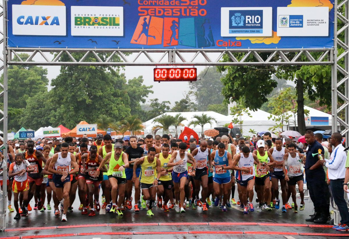 Serão 5 mil participantes correndo 5 km ou 10 km/ Foto: Divulgação