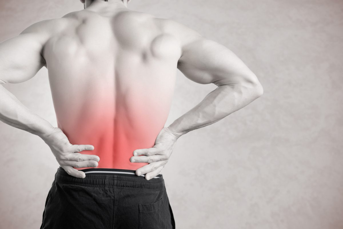 O músculo das costas costuma ser muito afetado Foto: ruigsantos