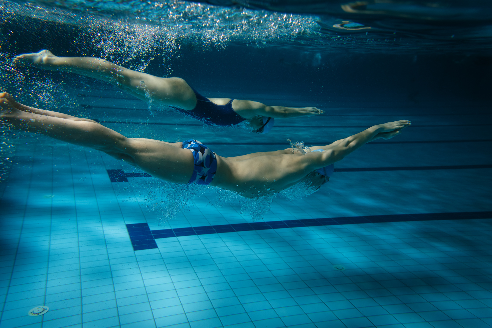 Nadar em conjunto também pode te ajudar Foto: SolisImages/Fotolia