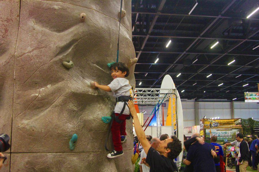 A criançada se diverte com as atrações da feira Foto: Christina Volpe/Webrun