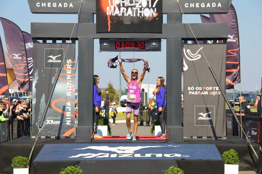 Picarelli conquistou a segunda colocação nos 42 km Foto: Christina Volpe/Webrun