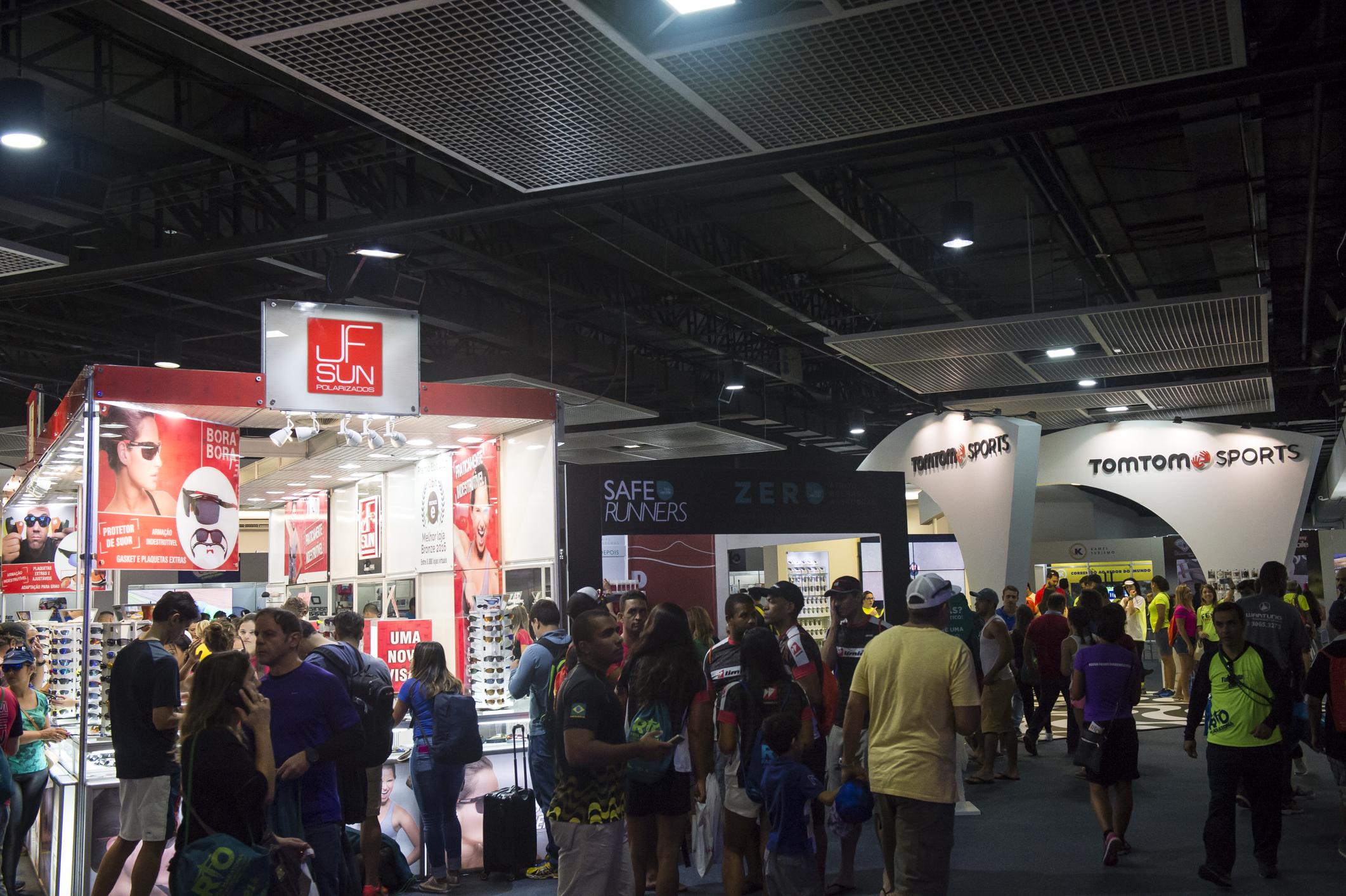 Algumas marcas grandes estão confirmadas como marcas confirmadas estão Olympikus, Pink Cheeks, Safe Runners, Alladin | Foto: Thiago Diz