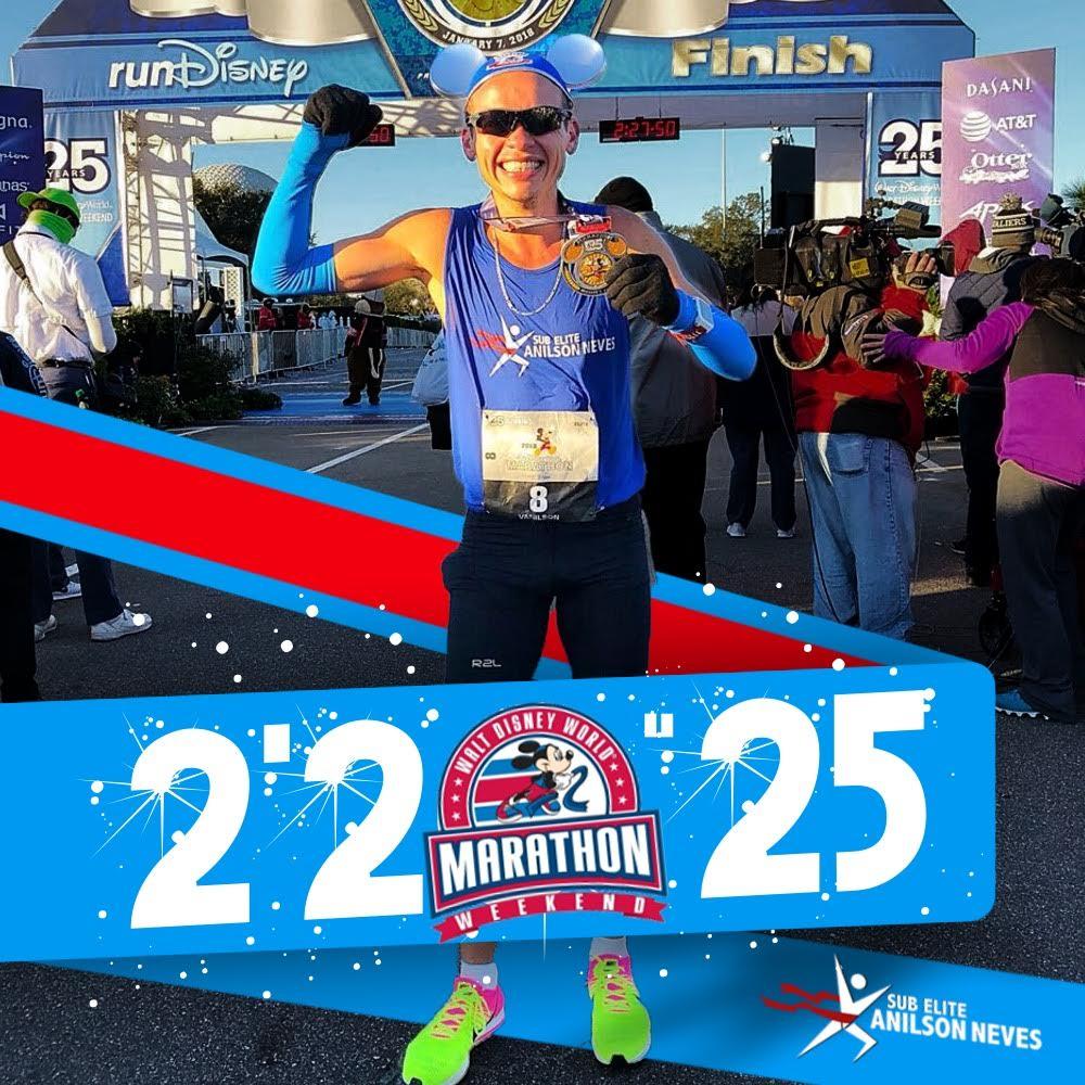 Maratona da Disney 2018 Foto: Arquivo pessoal