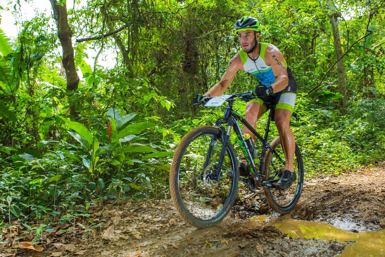 O trecho de mountain bike do XTERRA Costa Verde é uma aventura Foto: Divulgação