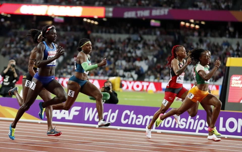 Rosangela Santos, destaque brasileiro no atletismo feminino/Foto: CBAT