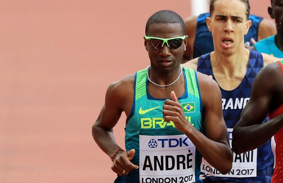 Thiago André foi finalista dos 800m