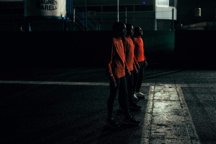 Os três desafiantes da maratona sub 2h Foto: Divulgação