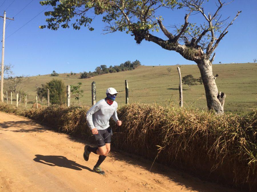 """""""Fiquei surpreso, pois nunca havia corrido mais do que 43 km em um dia e terminei o desafio sem dores. Foto: Arquivo Pessoal"""