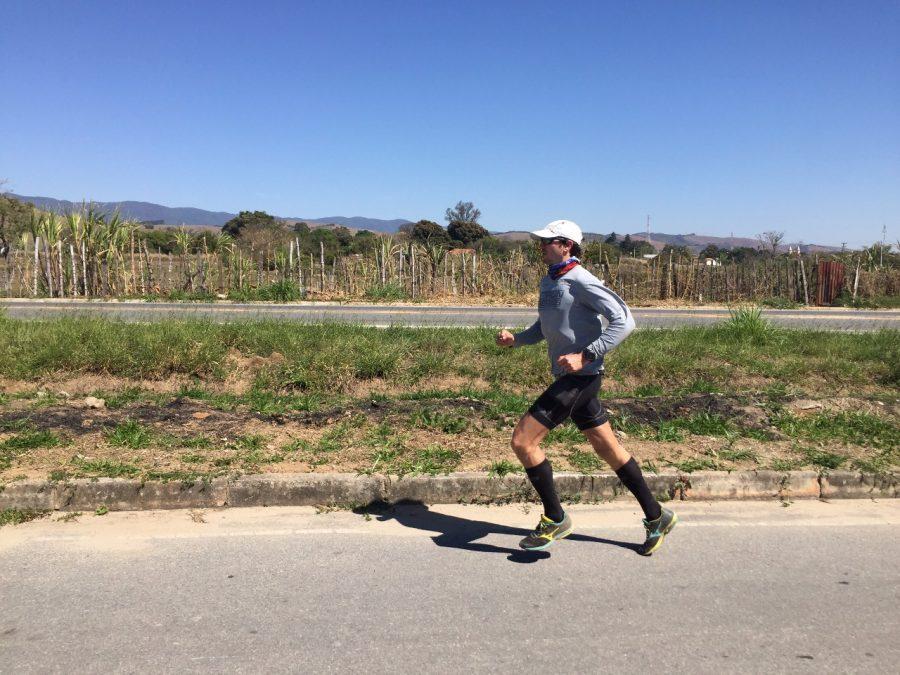 Cláudio participou do Desafio 200 km de Mogi das Cruzes até Aparecida Foto: Arquivo Pessoal