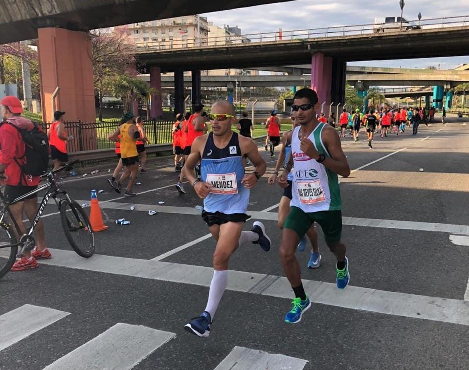 Foi sua segunda participação na prova e em maratonas Foto: Arquivo pessoal
