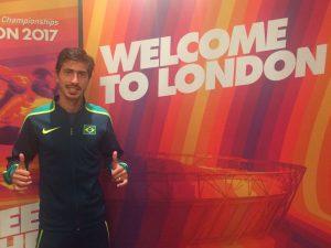 Seleção Brasileira de Atletismo fica entre as 20 melhores em Londres